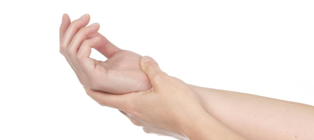 Douleur dans les mains